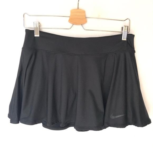Nike Pants - Nike Dry Fit Tennis Skirt Skort Black Women's M